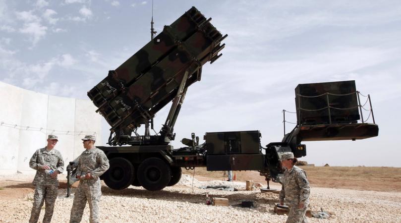 好国爱国者导弹体系(图源:路透社)