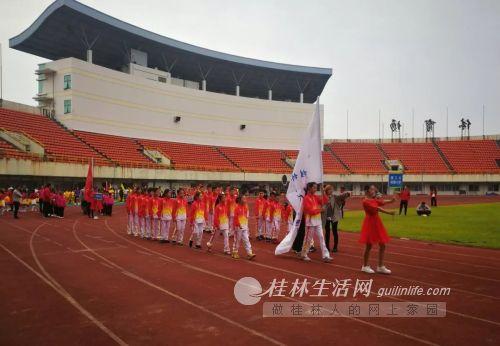 理工大附小荣获七星区2019年中小学生田径运动会第二名