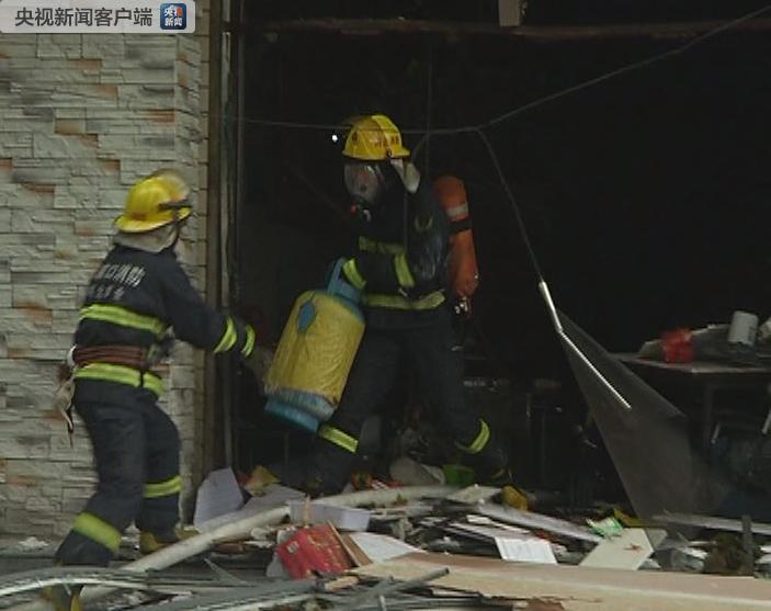 河北张家口万全区发生液化气燃爆事故 1人死8人伤