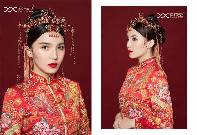 復古時尚秀禾韓式,各種造型參考拿走不謝圖片