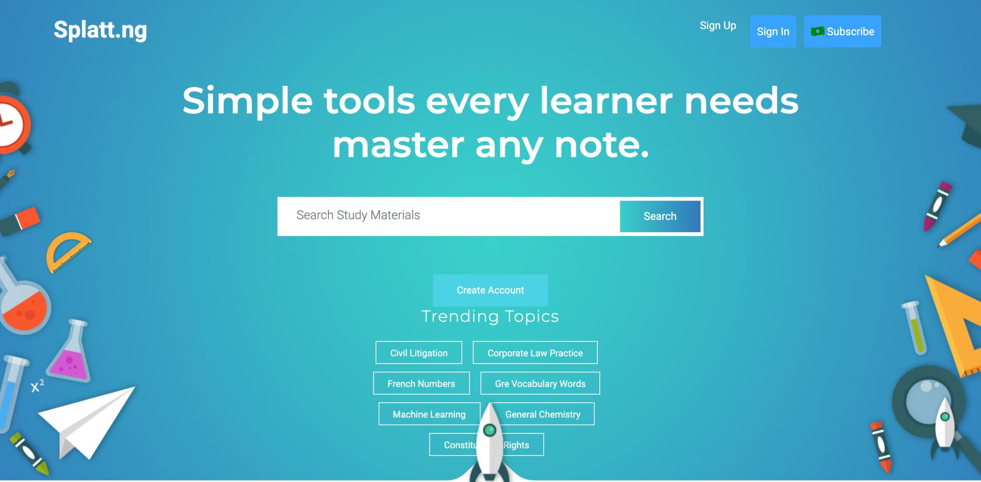 尼日利亚初创公司 Splatt 推出在线学习平台