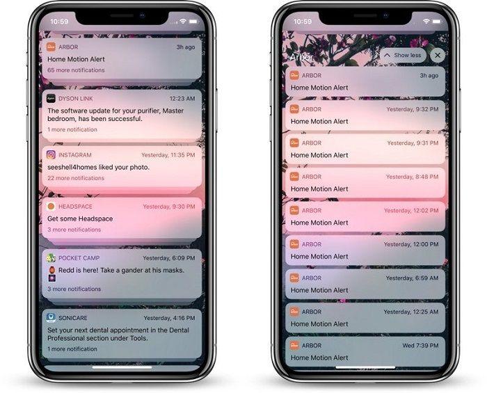 苹果iOS 12 的大调整 用户能更容易清理通知
