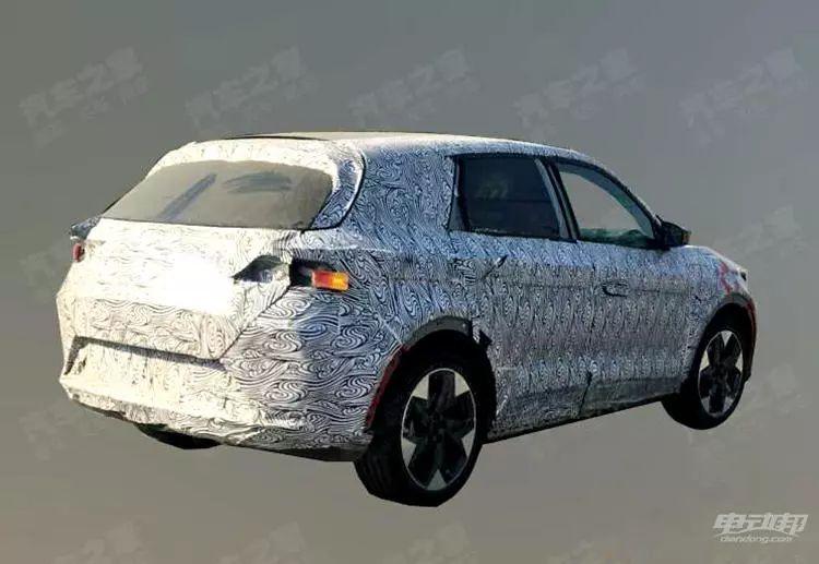 综合续航600+公里!北汽这款中型SUV首曝路试谍照:基本还原概念车