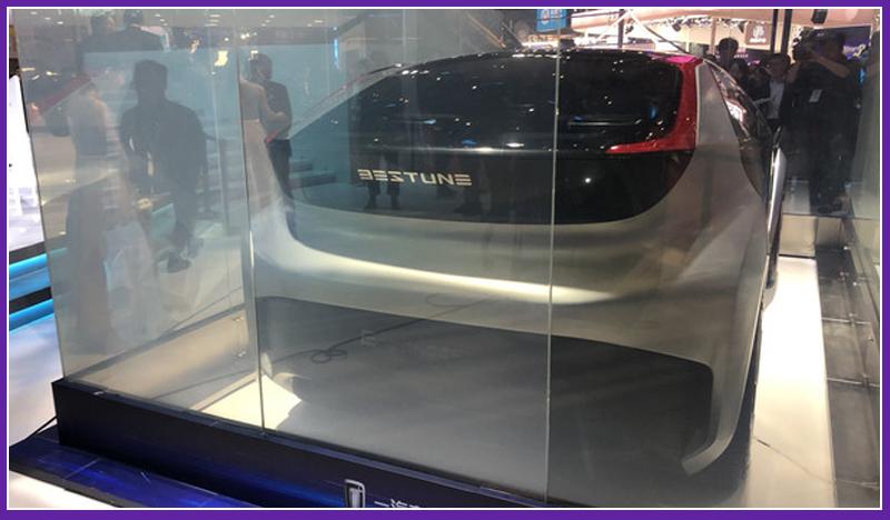 奔腾E² Concept概念车发布 打造物联网新出行