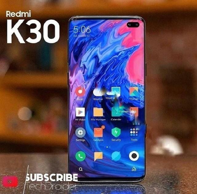红米首款支持SA/NSA双模5G手机的Redmi K30真机图曝光