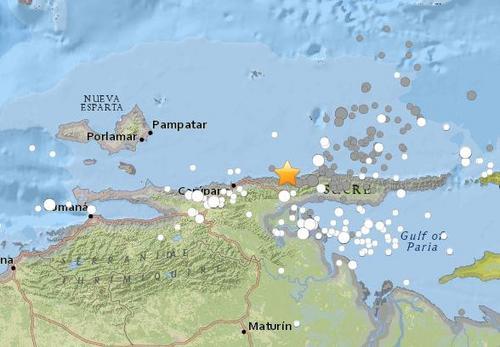 委内瑞拉近海发生7.3级地震 加勒比海发海啸警报