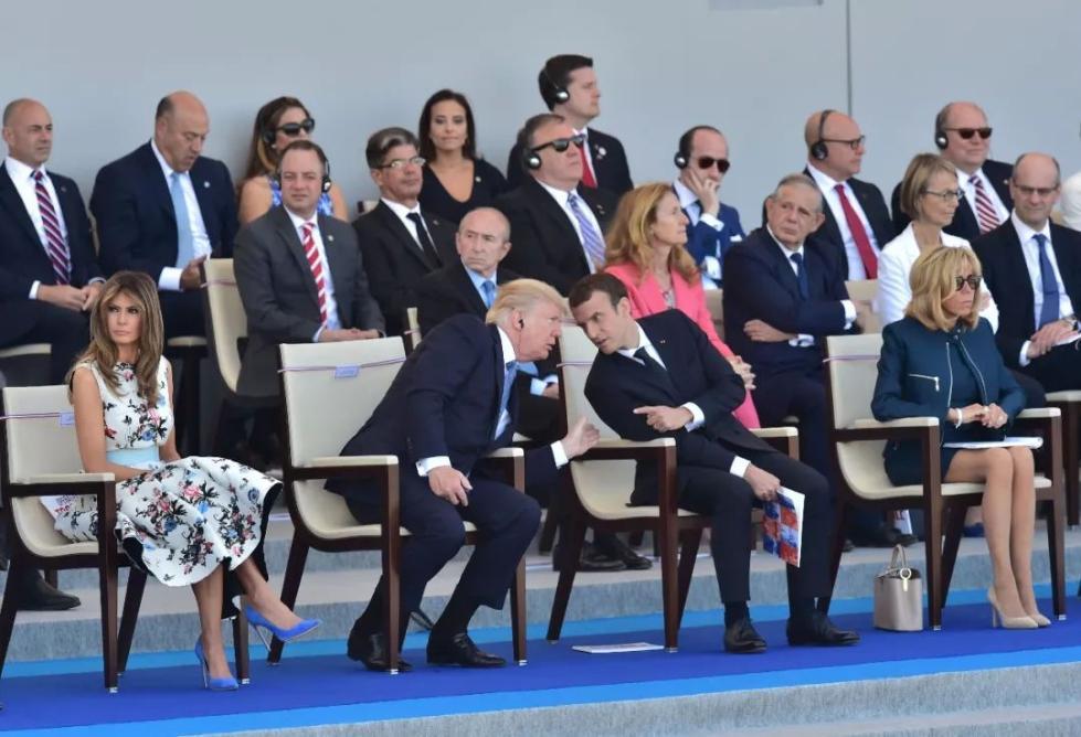 """马克龙想让法国""""重新伟大"""" 他要先过特朗普这一关"""
