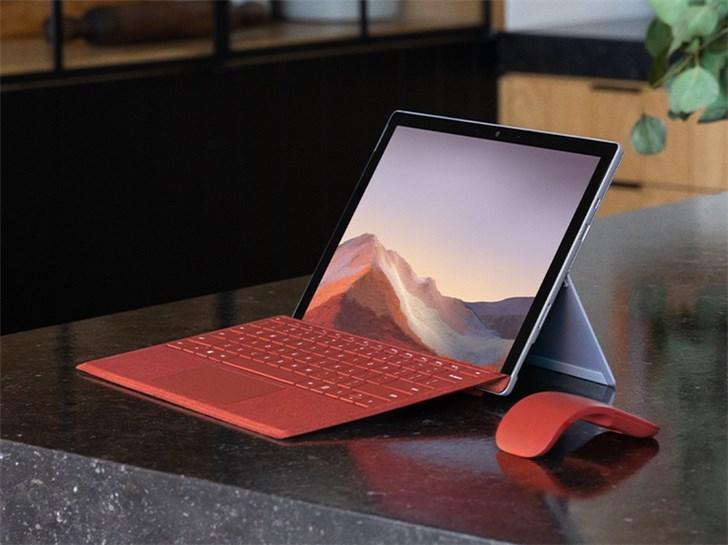 微软Surface Pro 7开启预约:十代酷睿,5788元起