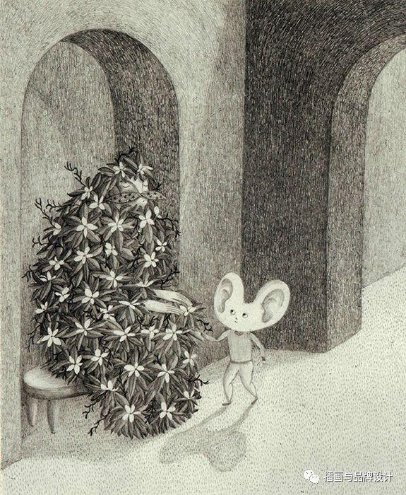手绘丨用铅笔画出最美的梦境,这波设计感极强的超现实