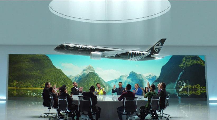 """""""橄""""为球狂,新西兰航空更名""""全黑队航空""""?!"""