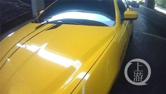 △王某将车身擅自改装成了黄色。