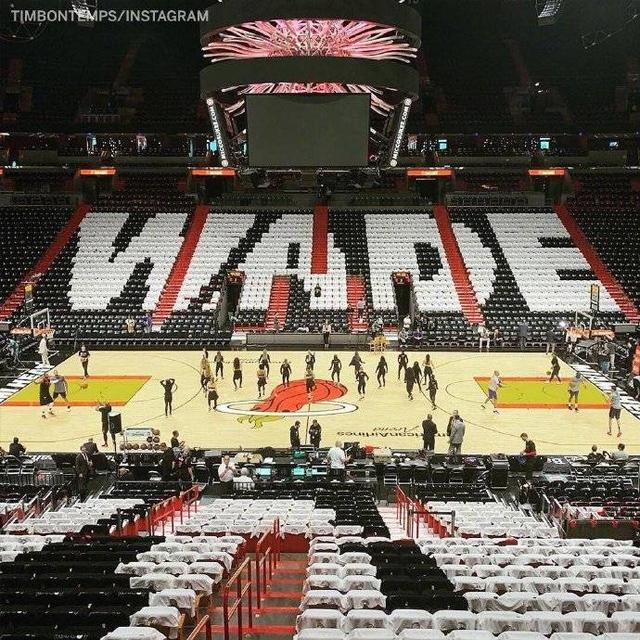 NBA两传奇主场最后一舞!热火致敬视频看哭韦德 东契奇致敬诺天王