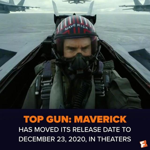 汤姆克鲁斯《壮志凌云2》12月23日上映