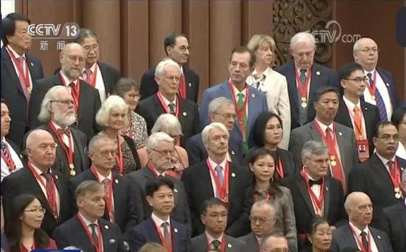 上海交通大学讲席教授Anders Lindquist荣获2019年度中国政府友谊奖