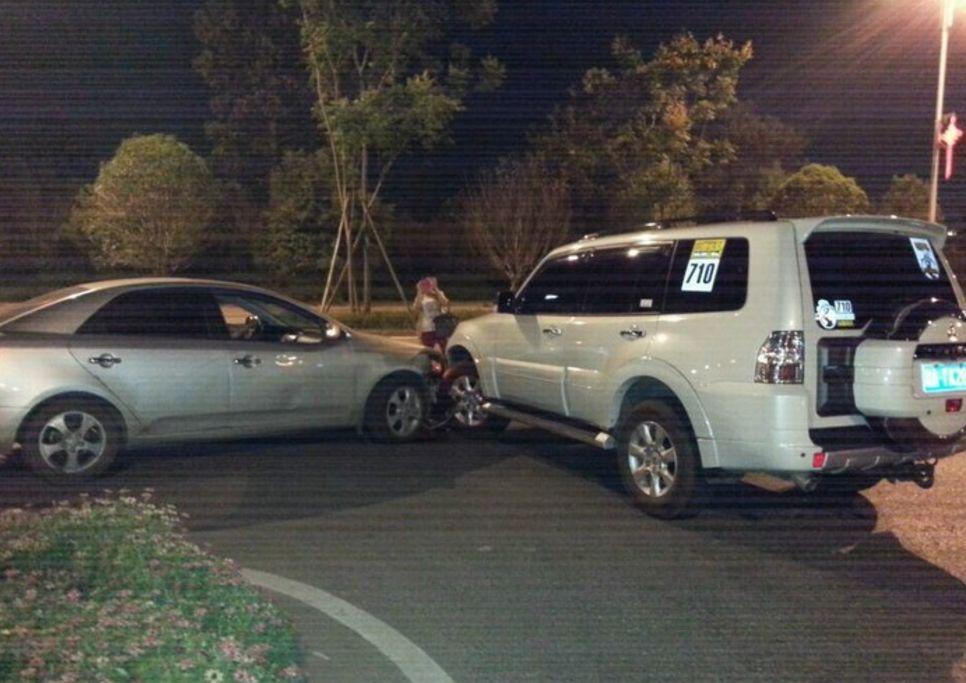 車 事故 dqn