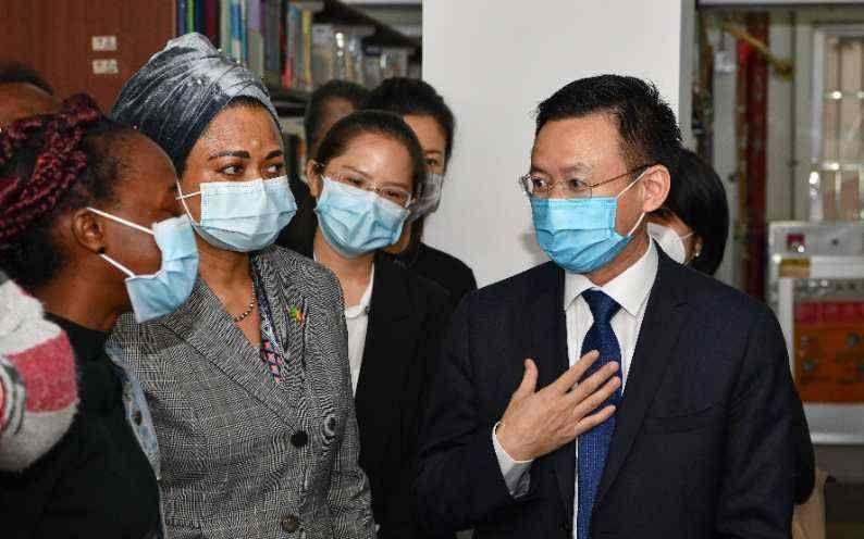 非洲多国驻穗领事:支持广东无差别防疫政策图片