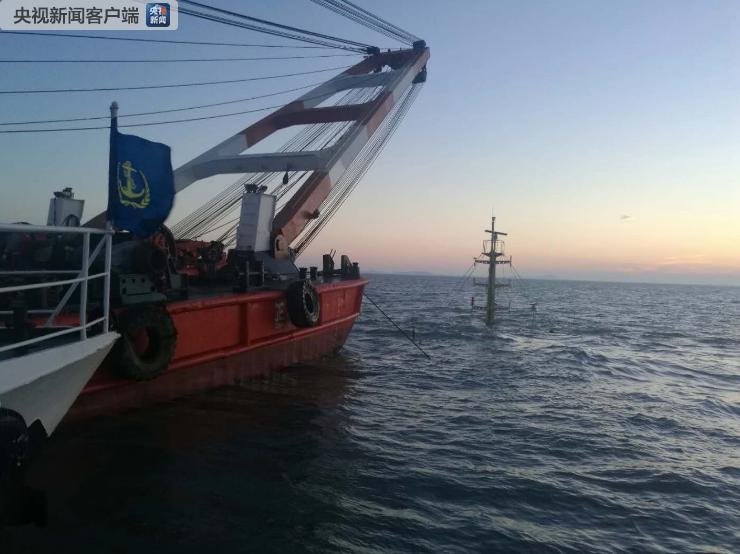 福州海域沉船事故已找到4名失联人员遗体 搜救还在进行