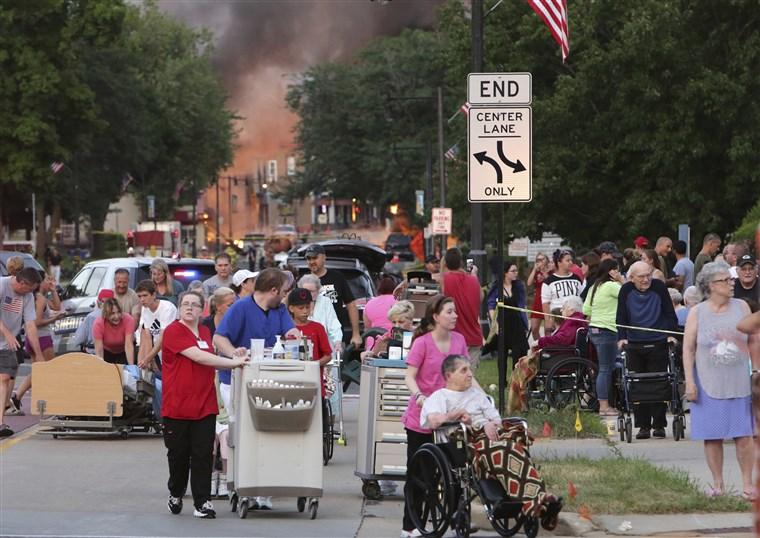 美国威斯康辛州发生天然气爆炸事故 造成1死多伤