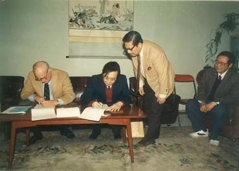 1987年11月,南开与SOA签订合作协议