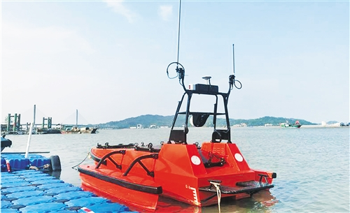 珠海云洲智能科技在悉尼等你有限公司:无人艇进无人之境