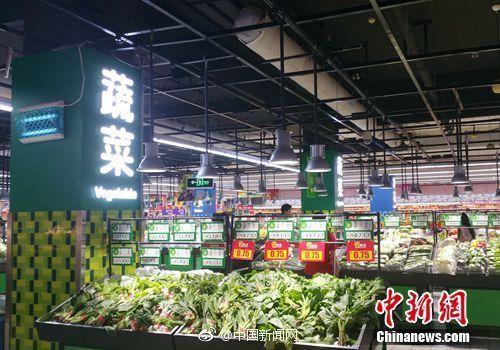 江门10月CPI同比上涨3.4%,鲜瓜果及鲜菜价格回落