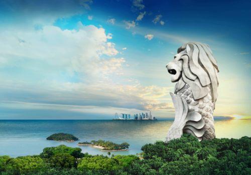 圣淘鲨鱼尾狮。图 via onefabergroup.com