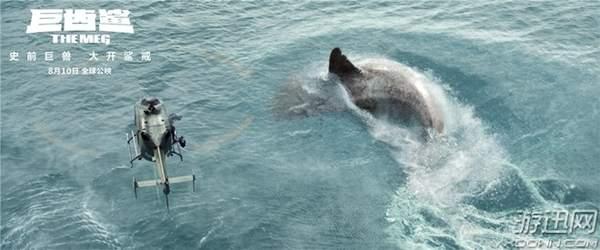 《巨齿鲨》首周周末票房破3.4亿 口碑、票房持续走高