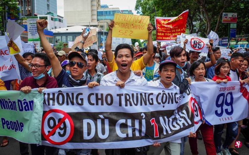 越南多地发生非法聚集 我使馆提醒注意出行安全