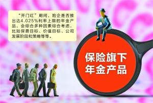 """担忧利差损风险 险企""""限售""""利率4.025%年金产品"""