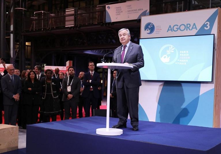 """联合国秘书长 :""""处于困境""""之中的世界面临严重的危机"""