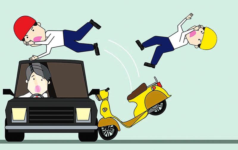 酒驾危害猛如虎!上林一男子酒后驾车撞伤两人