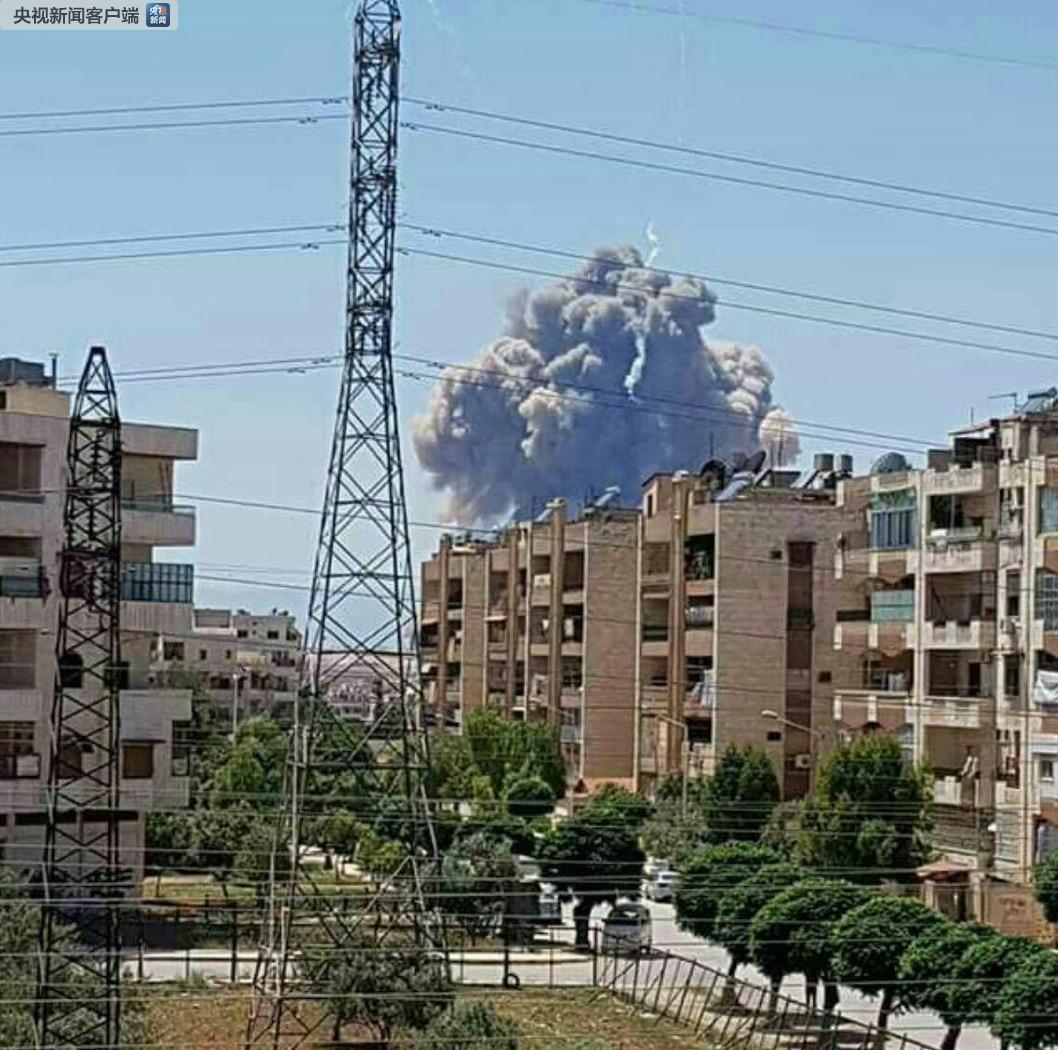 叙利亚:哈马军事机场发生爆炸