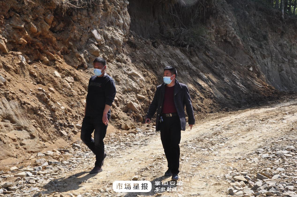 泾县安宗学:脱贫致富路还是得修路