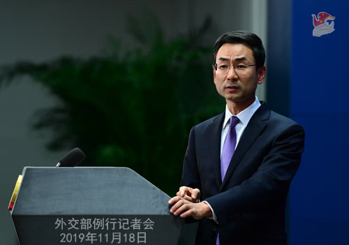 英国电信公司安装华为设备引当地不满 中国外交部回应