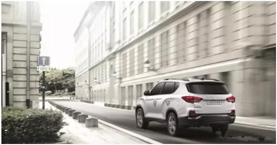韩国原装进口双龙硬派SUV双龙G4实车到店