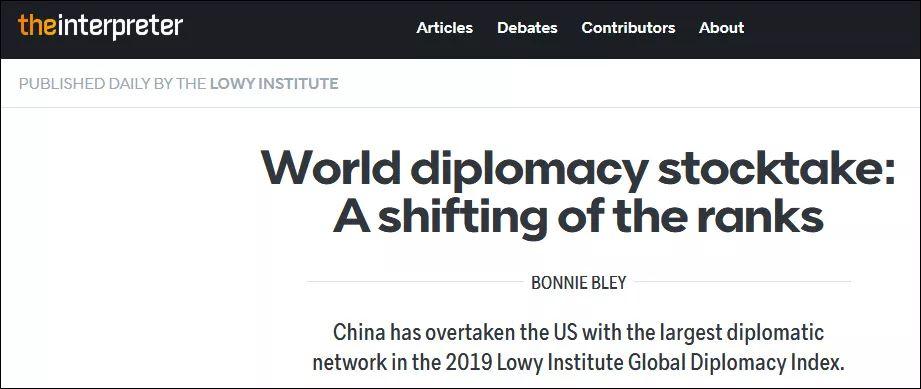 这个方面 中国首次超越美国
