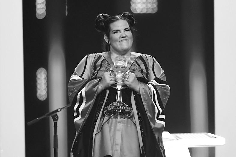 以色列女歌手芭兹莱获得今年欧歌赛冠军。