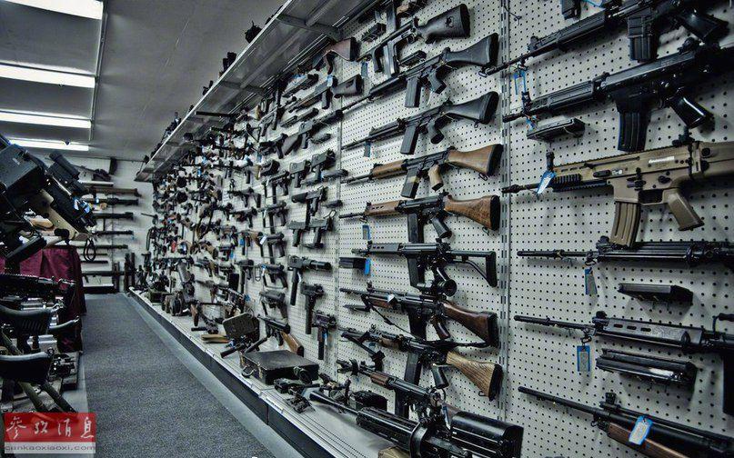外国个人开办枪械博物馆
