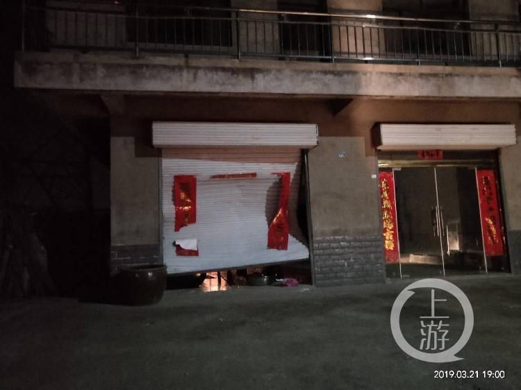 3月21日晚的江苏盐城沙荡村。