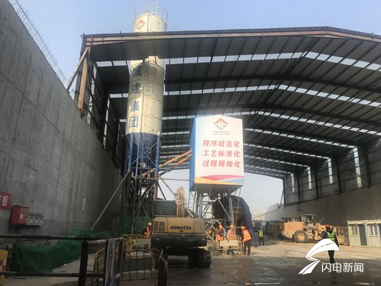 """济南顺河高架南延隧道预计2020年春节贯通!文明施工""""济南经验""""将在全省推广"""