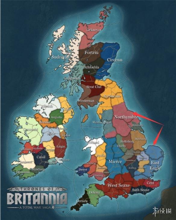 《全面战争传奇:大不列颠王座》维京大军势力详情汇总