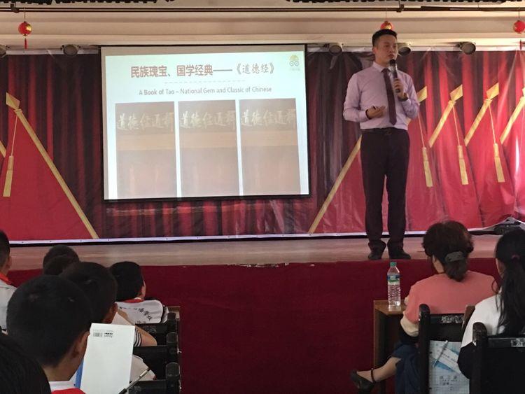 江西少年诗词大会赛前指导启动!记忆大师走进南昌现代外国语象湖学校