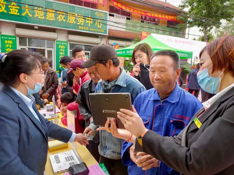 """打通农产品流通""""最后一公里""""  滨州市首个""""惠农合作""""服务点在惠民县揭牌成立"""