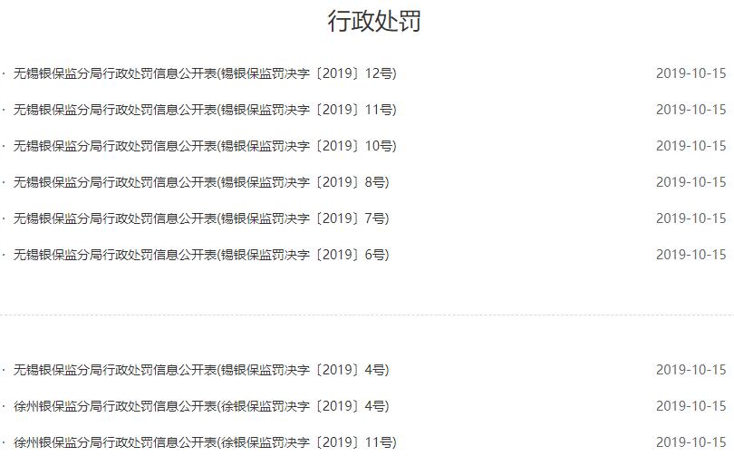 一天9张,江苏银保监单日罚单数量创纪录,多家银行再中枪