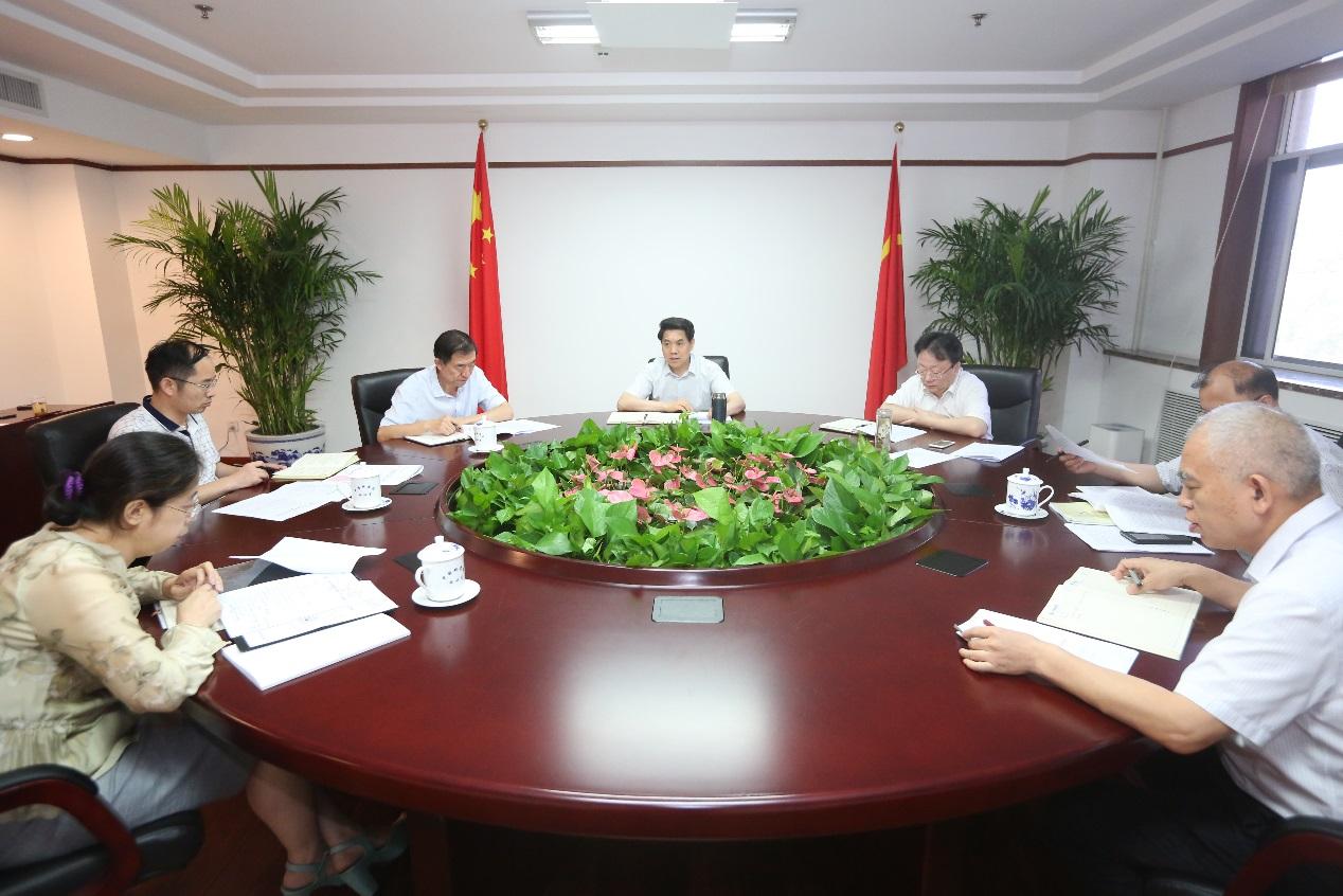 中国地震局部署配合全国人大常委会开展《防震减灾法》执法检查