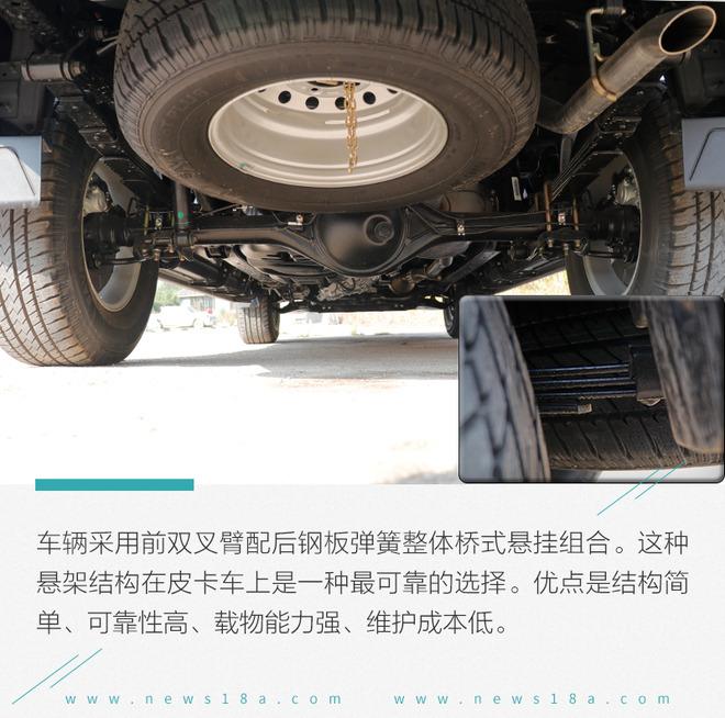 致富道路上的好伙伴  试驾江铃域虎5 自动挡车型