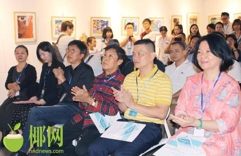 持续到20日!NOBO无界国际艺术巡展在海南省书画院举办,等你来!