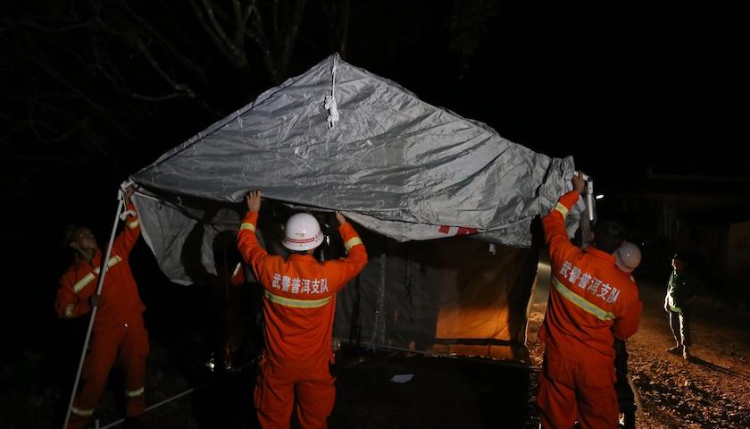 云南墨江5.9级地震致15乡镇2.4万人受灾