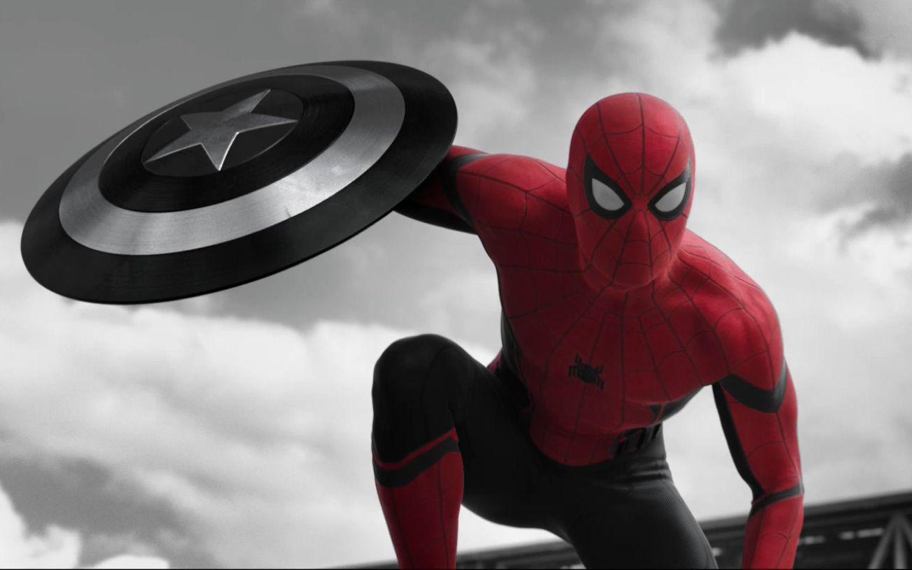 蜘蛛侠正在《复恩者同盟4》中。