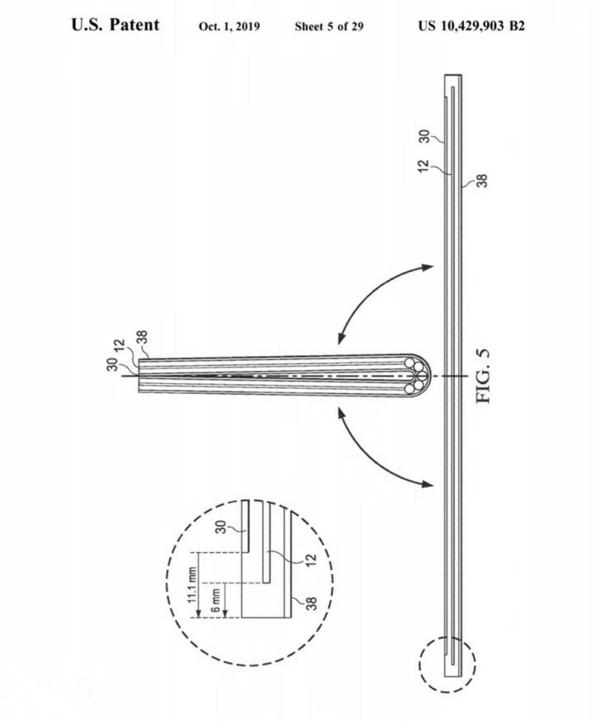 戴尔可折叠屏幕电脑专利图曝光